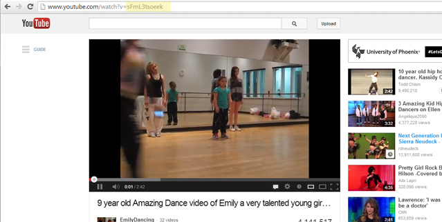 Add Video To Dance Studios Website Homepage
